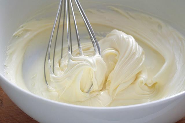 Aufgeschlagene Butter